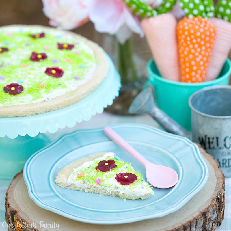 Festive Springtime Sugar Cookie Pizza Instagram