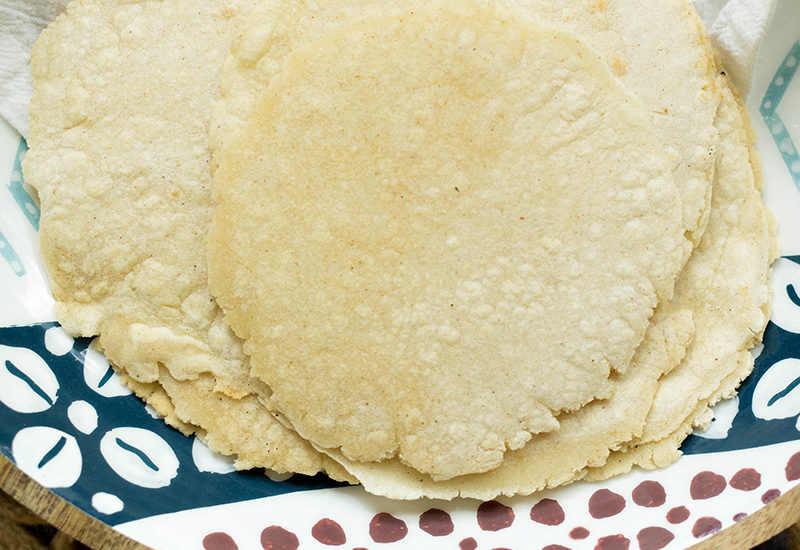 Homemade Corn Tortillas Recipe complete