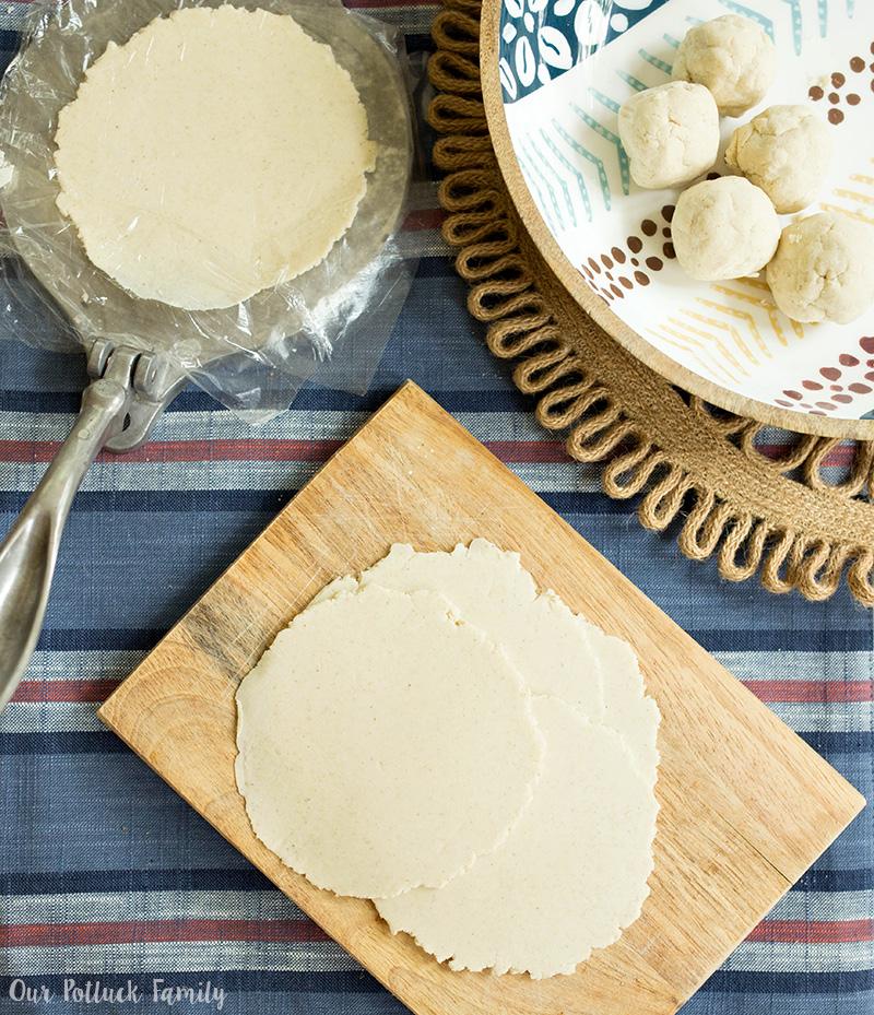 Homemade Corn Tortillas Recipe press