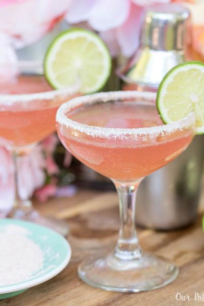 Pink Grapefruit Sparkling Rosé Margarita IG