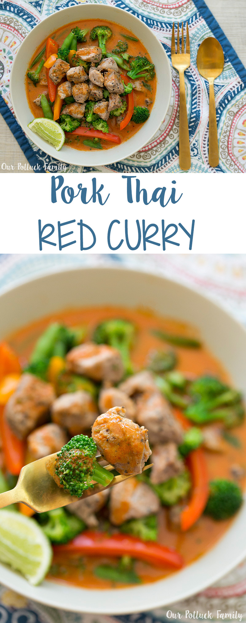Pork Thai Red Curry