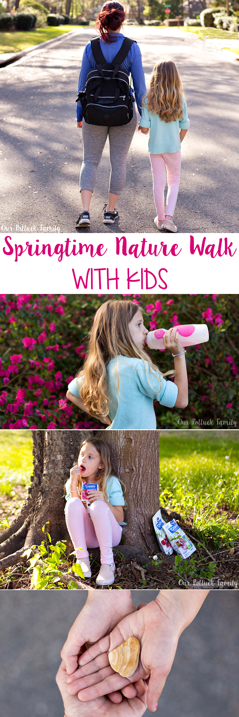 Springtime Nature Walk With Kids