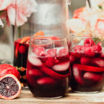 Blood Orange Red Wine Sangria glasses