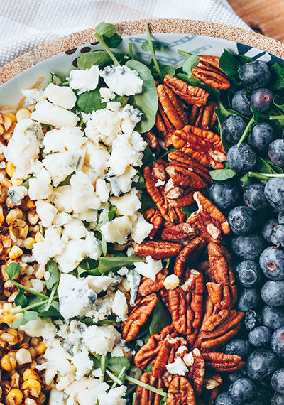 Blueberry Corn Summer Salad