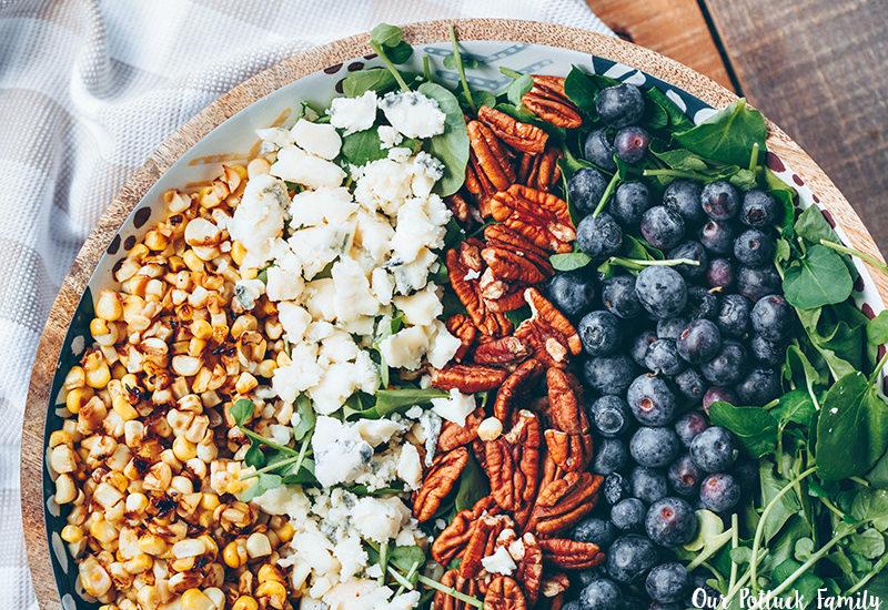 Blueberry Corn Summer Salad final