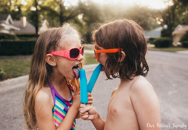 Outdoor Summer Games share pop
