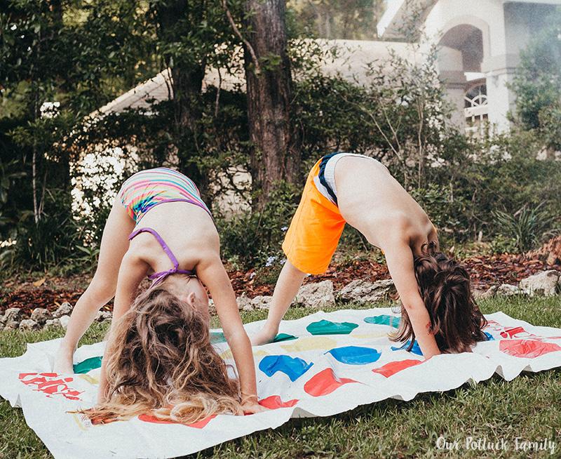 Outdoor Summer Games twister