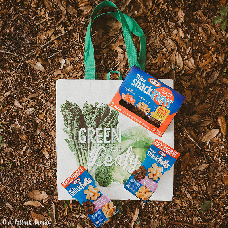 Spring Gardening Family Time Kraft Kroger Bag