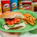 Cactus Party Southwest Black Bean Burger