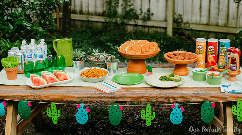 Cactus Party Spread