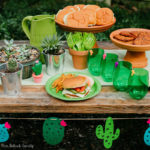 Cactus Party + Burger Bar Ideas