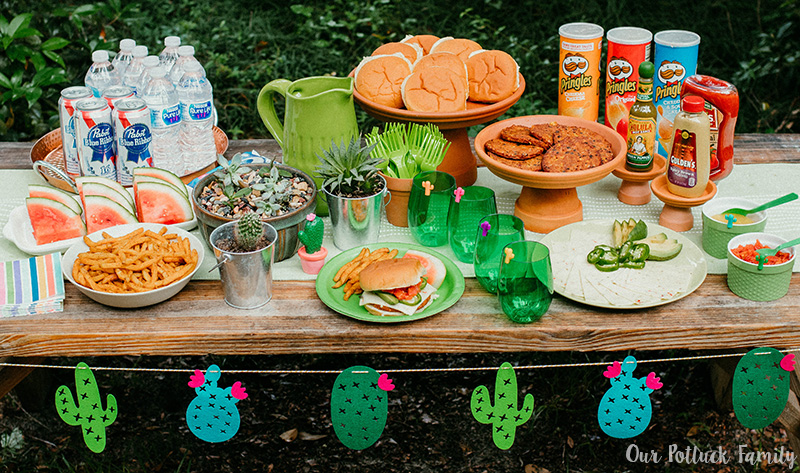 Cactus Party Tablescape