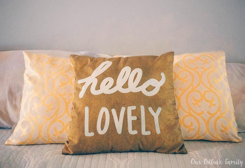 Summer Bedroom Refresh Pillows