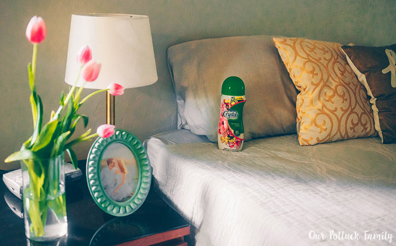 Summer Bedroom Refresh Purex Bed