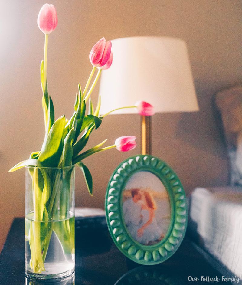 Summer Bedroom Refresh nightstand