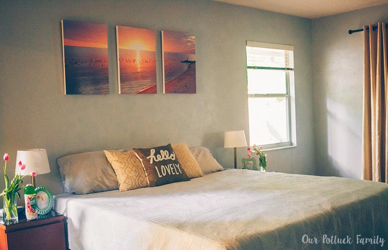 Summer Bedroom Refresh room