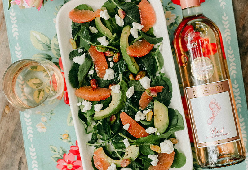 Summer Salad and Rosé IG