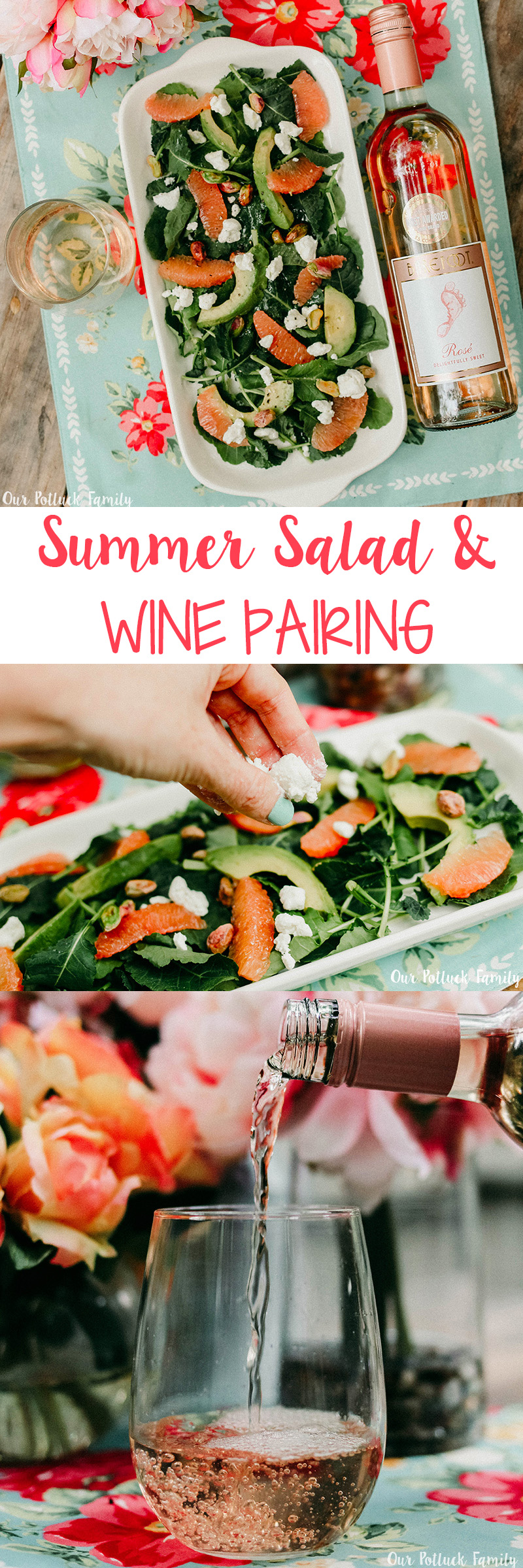 Summer Salad and Rosé Pairing