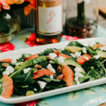 Summer Salad and Rosé dressing