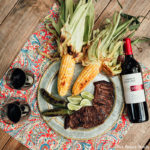 Steak and Wine Pairing for a Romantic Dinner Outdoors