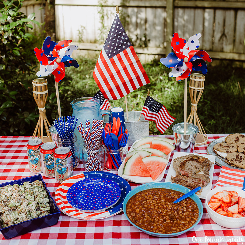 Patriotic Party Food