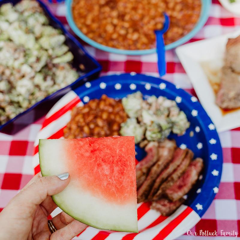 Patriotic Party plates