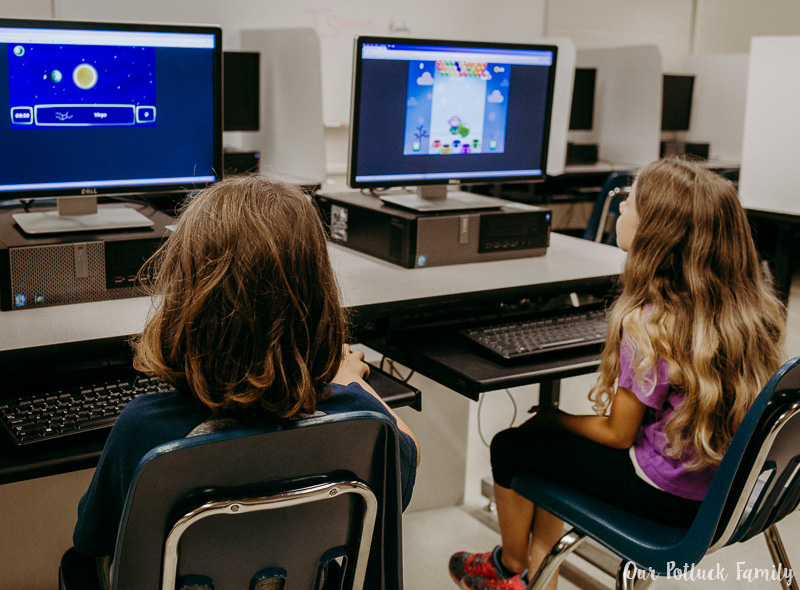 Science computer games lab