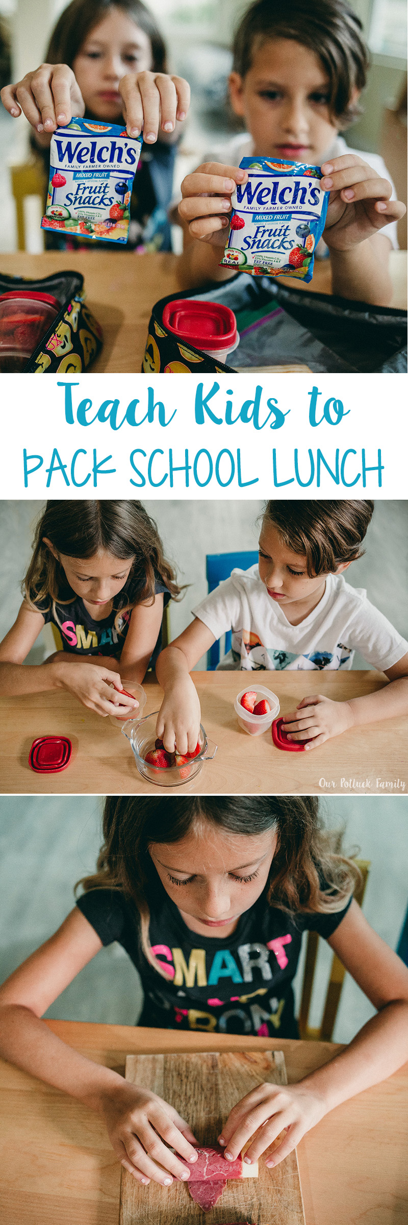Teach Kids to Pack School Lunches