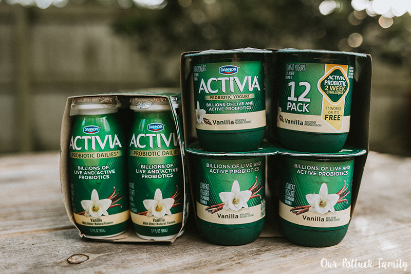Two Week Challenge Activia products