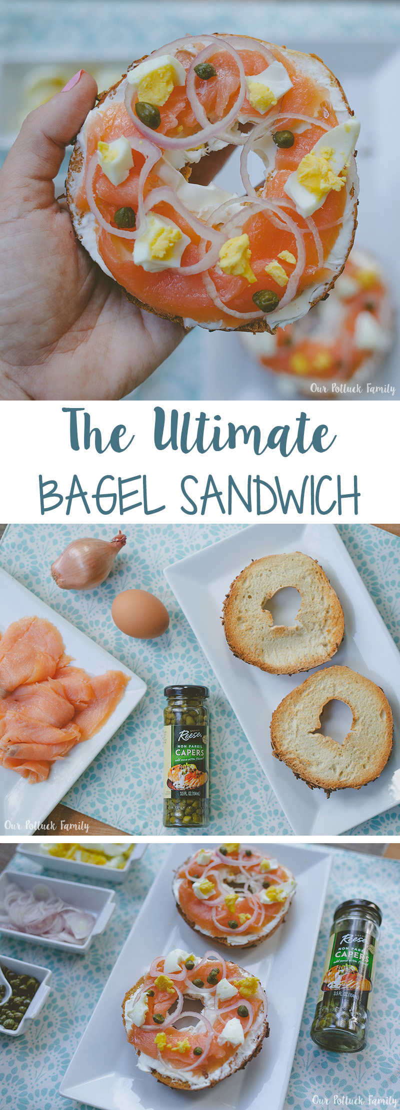 Ultimate Bagel Sandwich