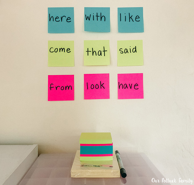 Elementary Literacy Activities Word Wall