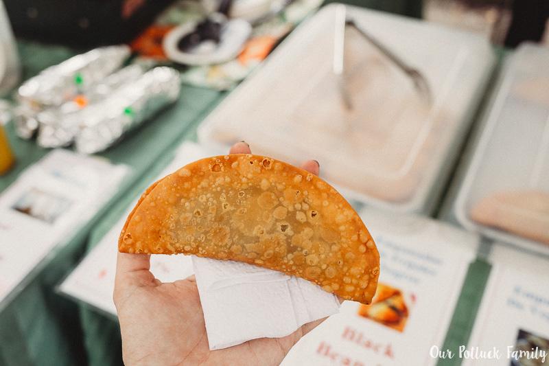 Haile Farmer's Market Empanada