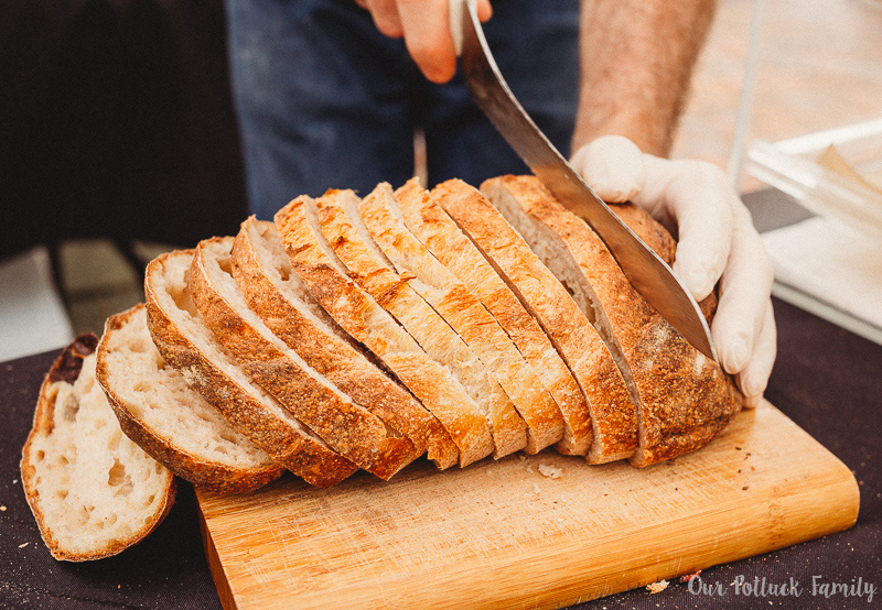 Haile Farmer's Market Vine bread