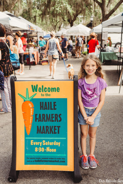 Haile Farmer's Market sign