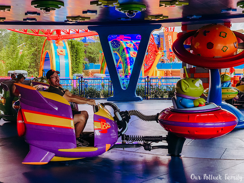 Toy Story Land Alien Ride