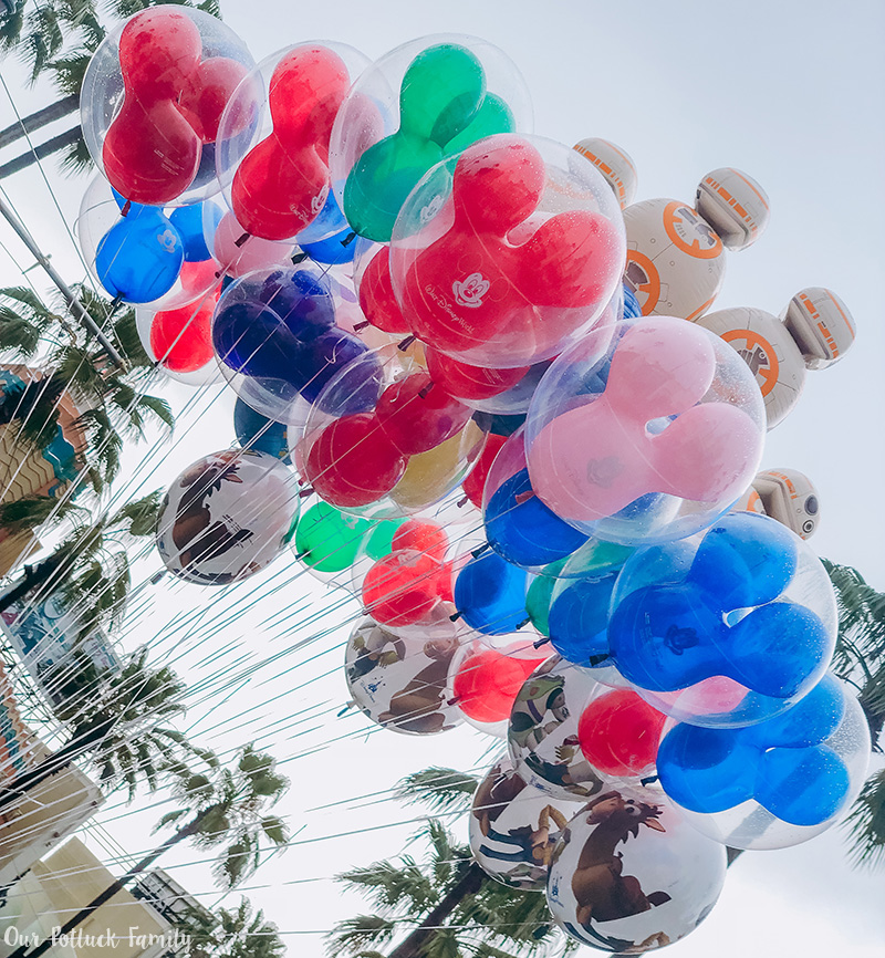 Toy Story Land Balloons