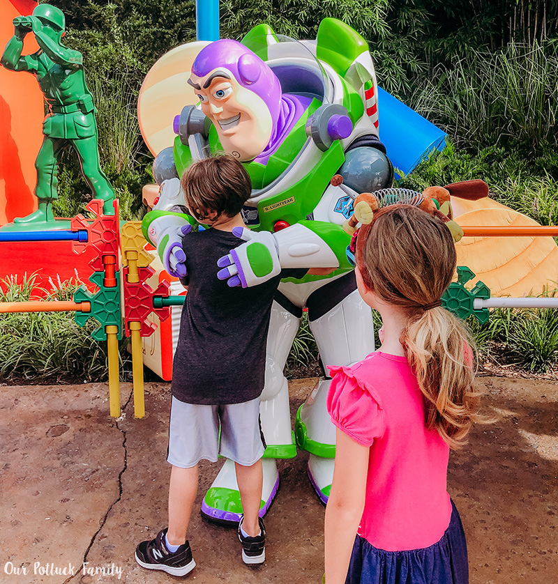 Toy Story Land Buzz