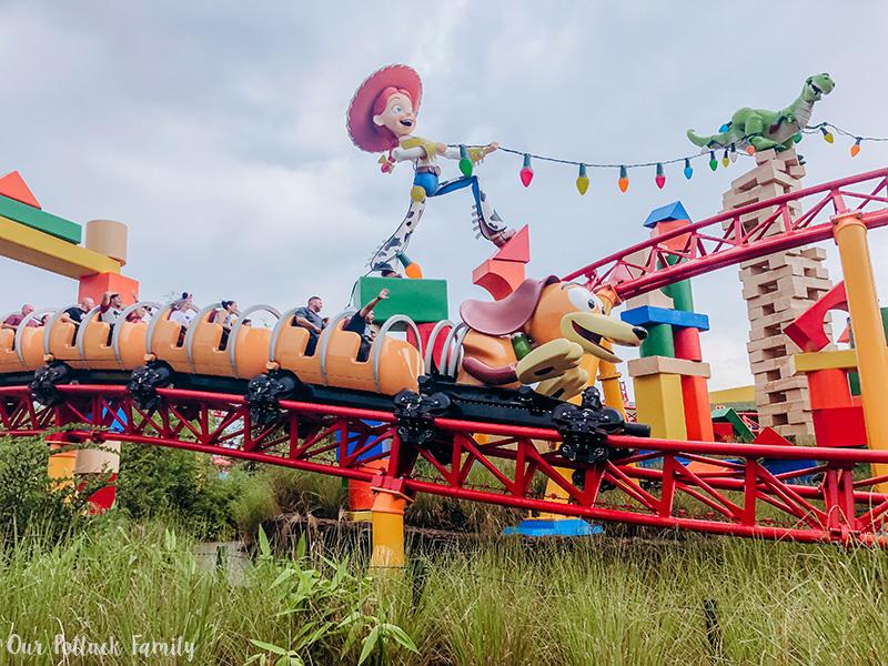 Toy Story Land Slinky Dog Coaster