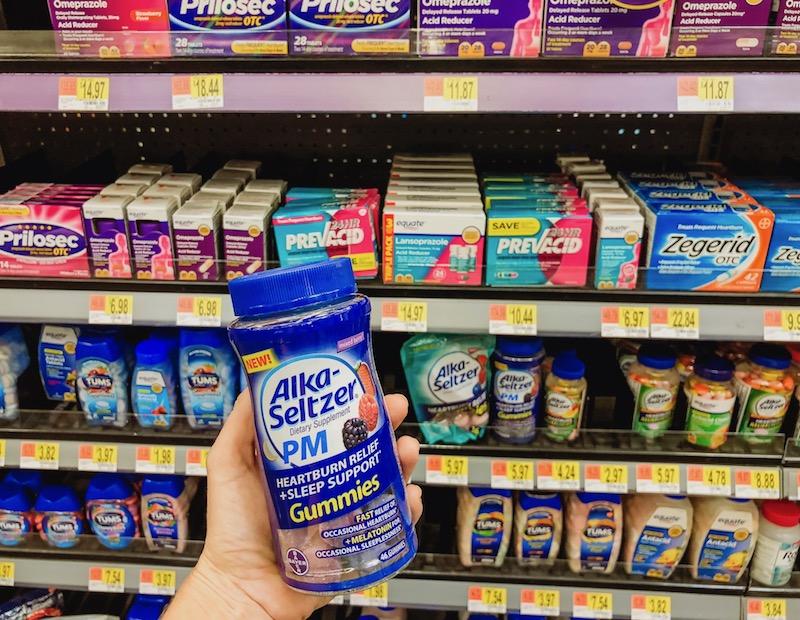 Alka-Seltzer at Walmart
