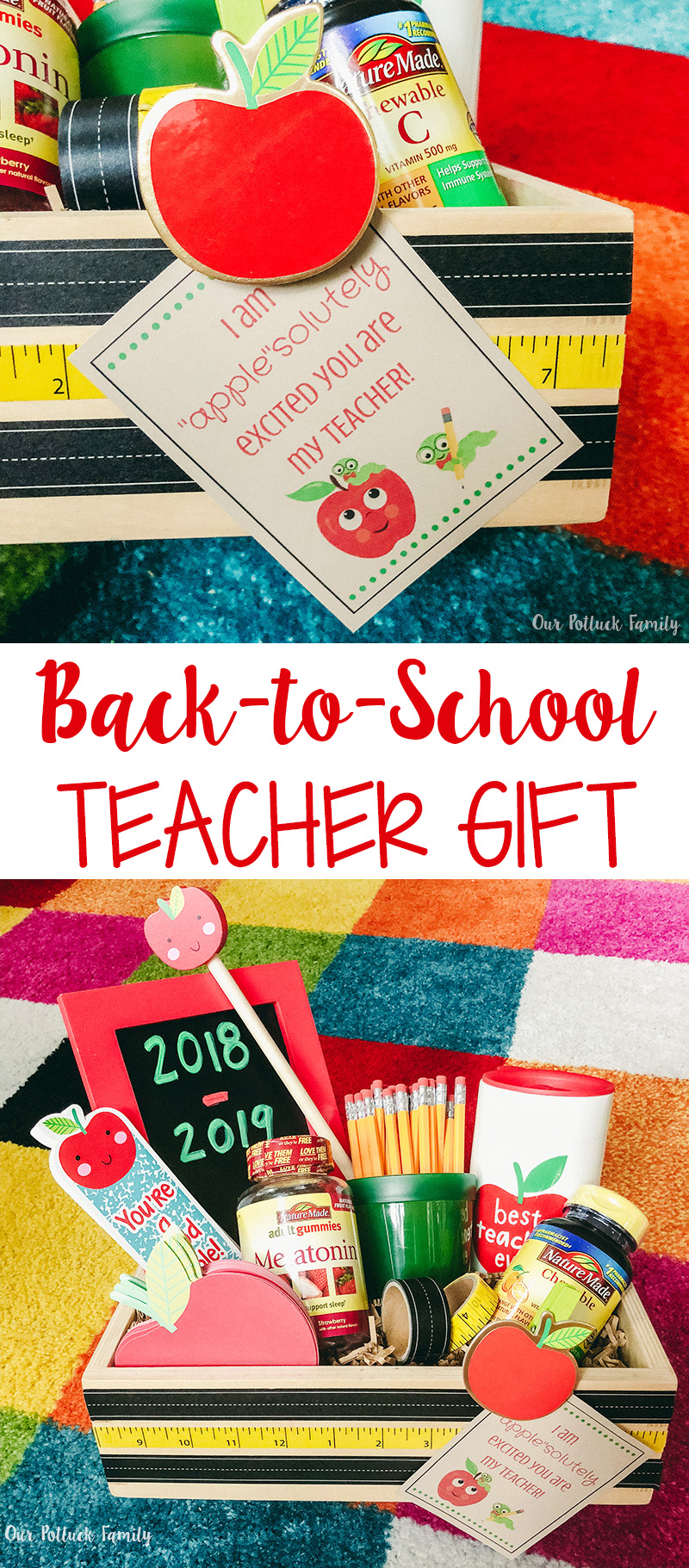 Back-to-School Teacher Gift Basket