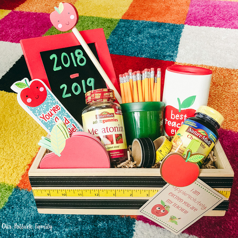 Back-to-school teacher gift Instagram