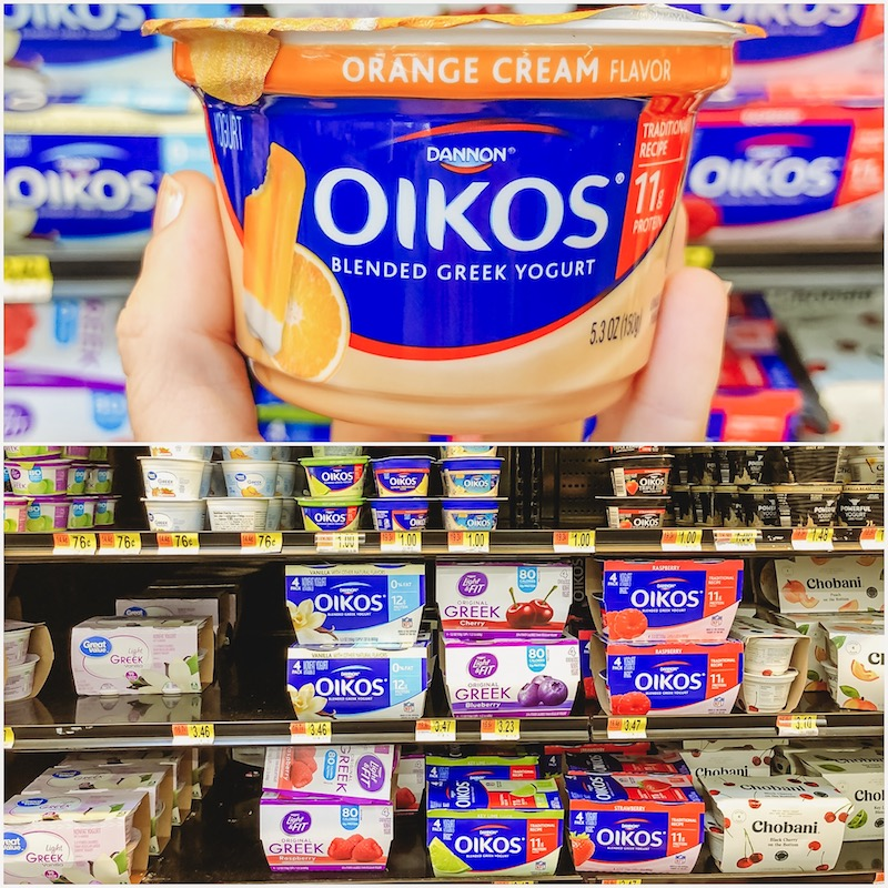 Dannon Oikos at Walmart