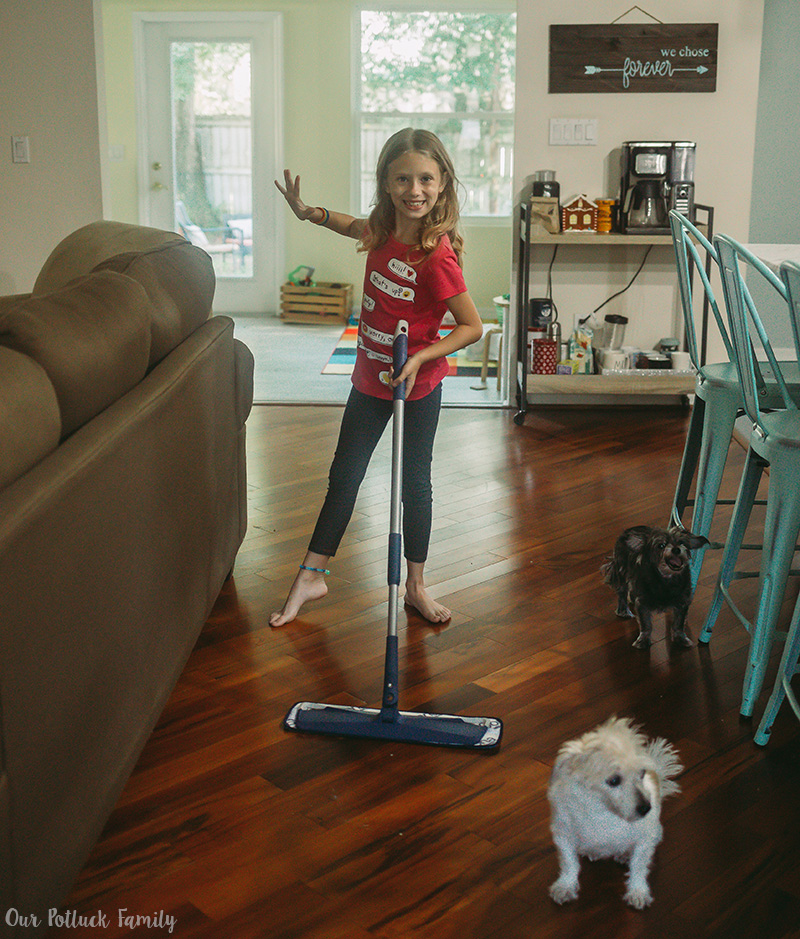 Fall Cleaning Tips floors