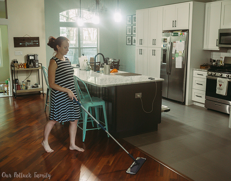 Fall Cleaning Tips mop