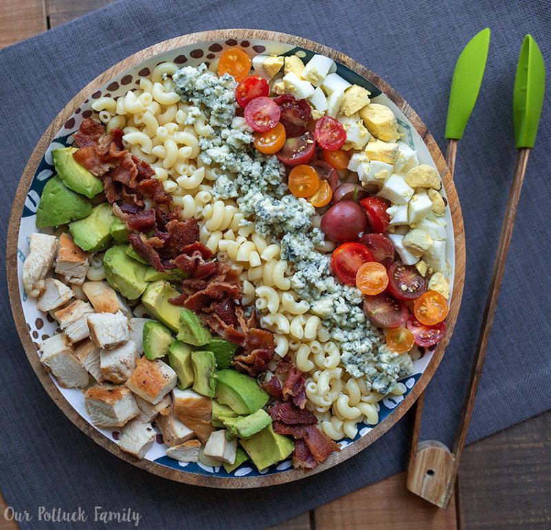 Pasta Cobb Salad Recipe Our Potluck Family
