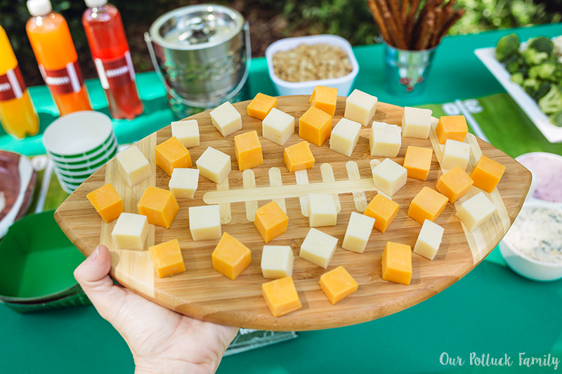 Budget Friendly Homegating cheese