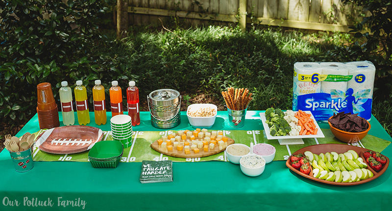 Budget Friendly Homegating spread