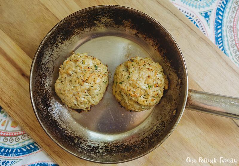 Crab Cakes pan