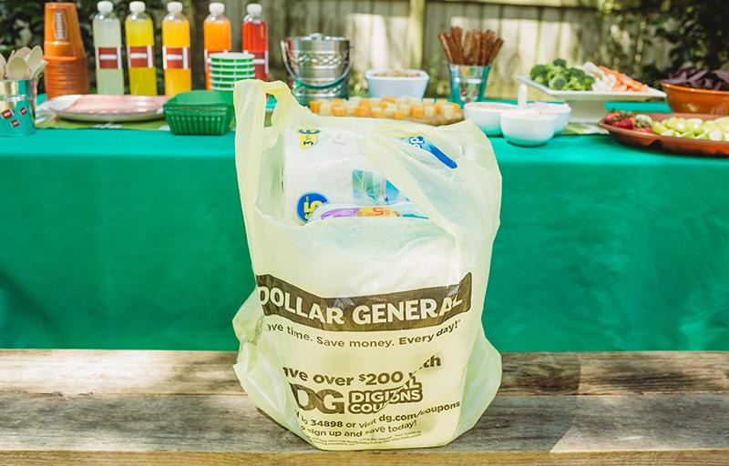 Dollar General bag