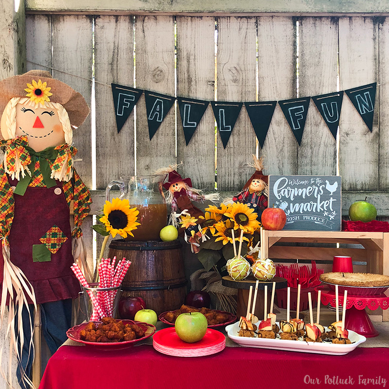 Fall Apple Party Instagram